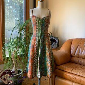 70s vintage boho sundress